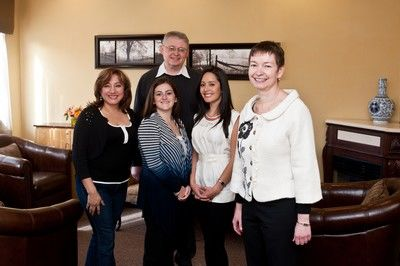 Dentist Dr. Yelena Gutnichenko and staff