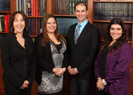 Dr. Jacobson and members of his staff