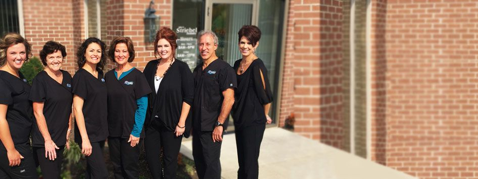 The staff at John R. Striebel Dentistry