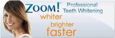 Zoom!® Teeth Whitening Treatment ad