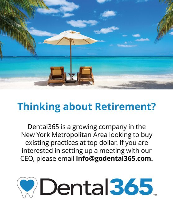 Thinking about retirement? Email info@godental365.com