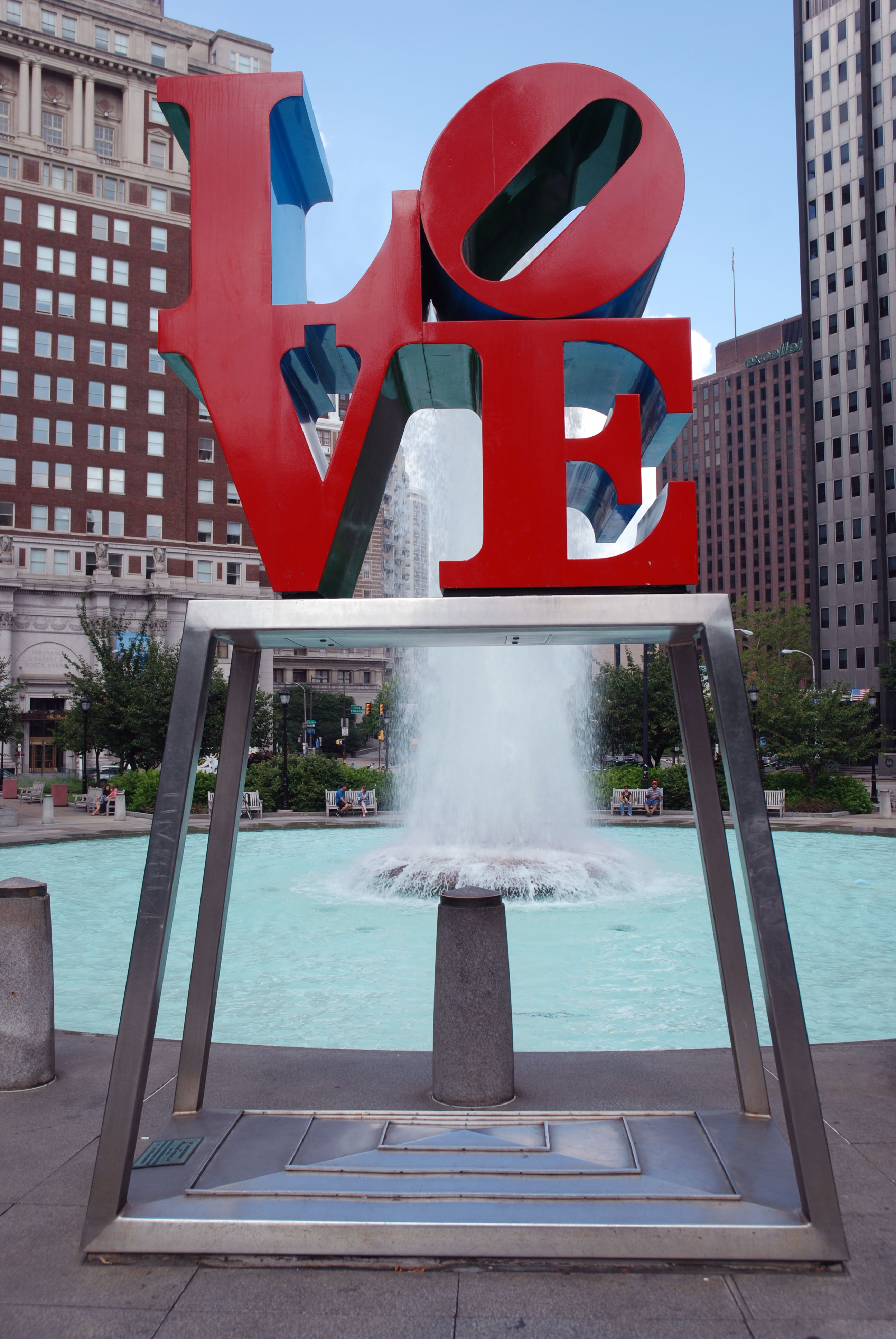love fountain in philadelphia