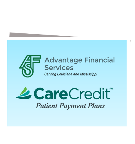 Care Credit and Advantage Financial Services