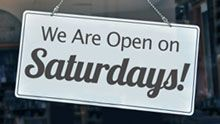 Open Saturdays
