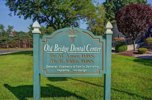 Old Bridge Dental Center Front Signage