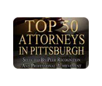 Top 50 Attorneys in Pittsburgh