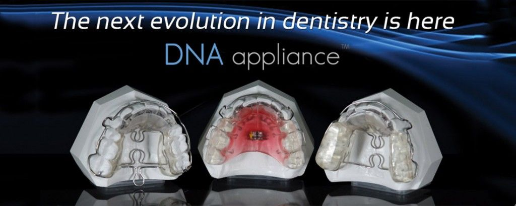The DNA appliance gives patients relief from sleep apnea without CPAP machines.