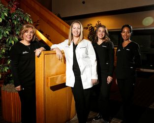 Dr. Kate Von Lackum and her staff