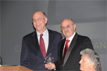 Andy was honored to be invited to speak to the California Applicants' Attorneys Association (CAAA) and also present the Esther Weismann award on behalf of WILG to CAAA president, Barry Hinden in January of 2011.