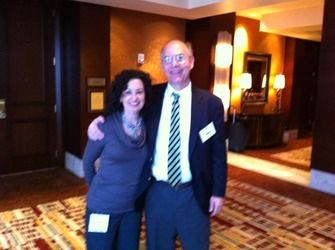 After speaking to the National Association of Trial Lawyer Executives (NATLE) in Denver, CO in November of 2010, Andy posed with NATLE executive, Kathleen Wilson.