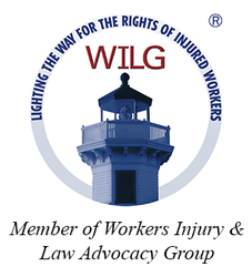 Seal of the Workers Injury & Law Advocacy Group