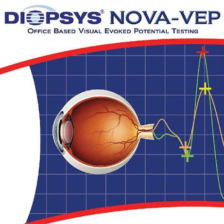 Marking image for Diopsys® NOVA-VEP Vision Testing System
