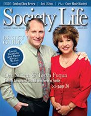 Drs. Steven and Tonya Fuqua in Society Life Magazine