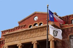 Southlake & Texas Flags