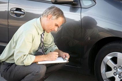 Product inspection of a faulty vehicle