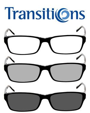 Transitions lenses marketing image.