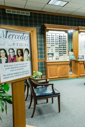 Onsite optical shop, Mercedes Optical