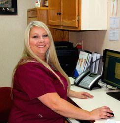 Amy front desk