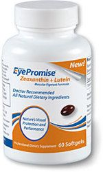 Bottle of EyePromise medication