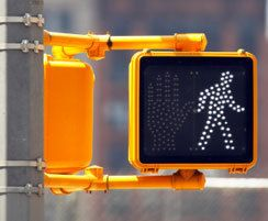 Cross-walk sign
