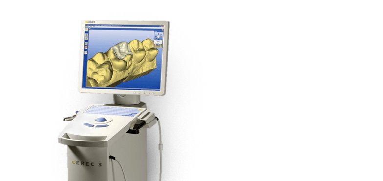 Image of a CEREC machine