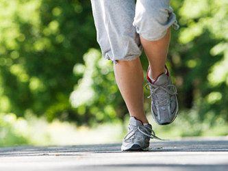 Female jogger's legs