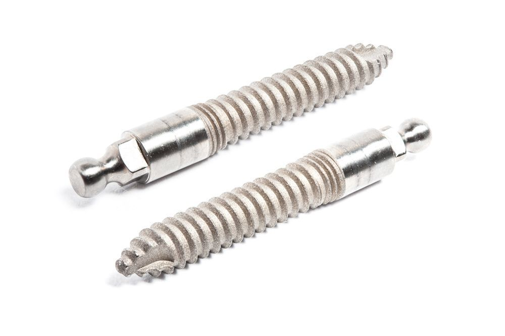 Titanium implant posts
