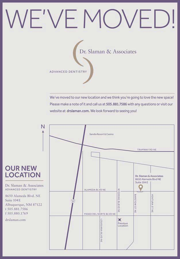 Map to new office location