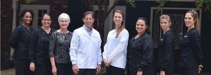 Dr. David Pousson's dental staff