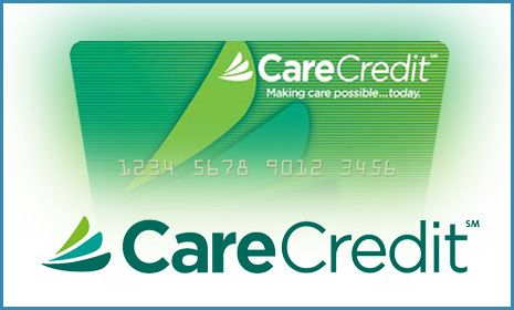 Graphic of a CareCredit card