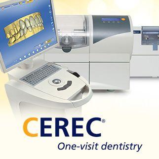 Photo of CEREC system