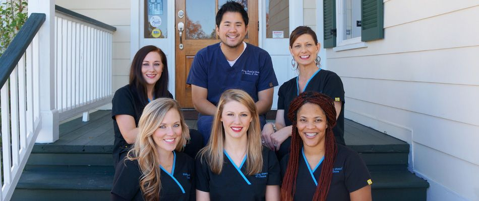 Group photo of staff at Parkway Dental of Clinton.