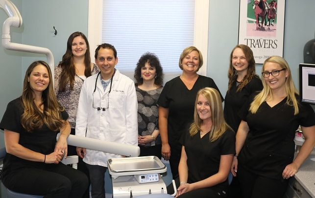 Photo of Dr. Osinski and staff