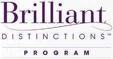 Brilliant distinctions program logo