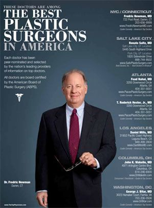 Dr. Fredric Newman - Recognized as one of The Top Plastic Surgeons in America