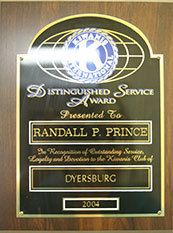 Kiwanis International Distinguished Service Award