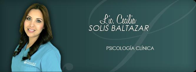 Lic. En Psic. Cecilia Solis Baltazar