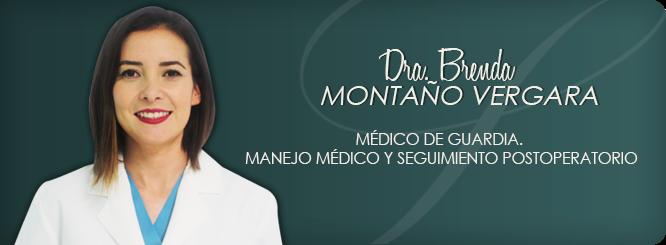 Dra. Brenda Montaño Vergara
