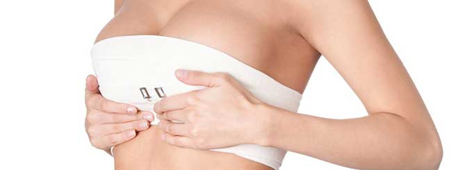 breast lift bandaging
