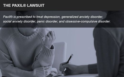 The Paxil lawsuit