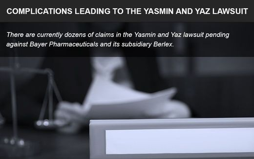 The Yaz and Yasmin lawsuit