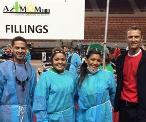 Gila Ridge Dental volunteering at Mission of Mercy