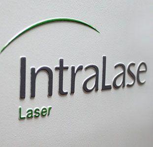 IntraLaser sign