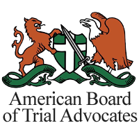 American Board of Trial Advocates logo