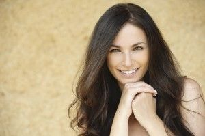 Phot of Brunette Woman Smiling