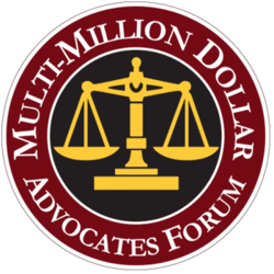 Multimillion dollar advocates form logo