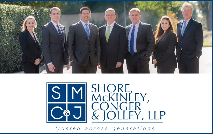 Legal team at Shore, McKinley, Conger & Jolley, LLP