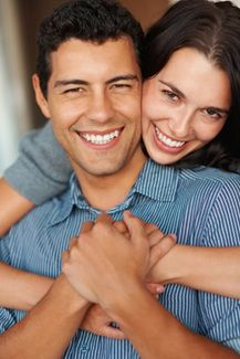Smiling Invisalign® patients