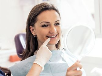image of dental exam