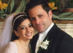 Image of smiling bride and groom